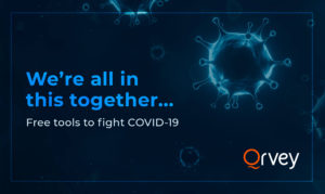 Qrvey offers free analytics for COVID-19 research