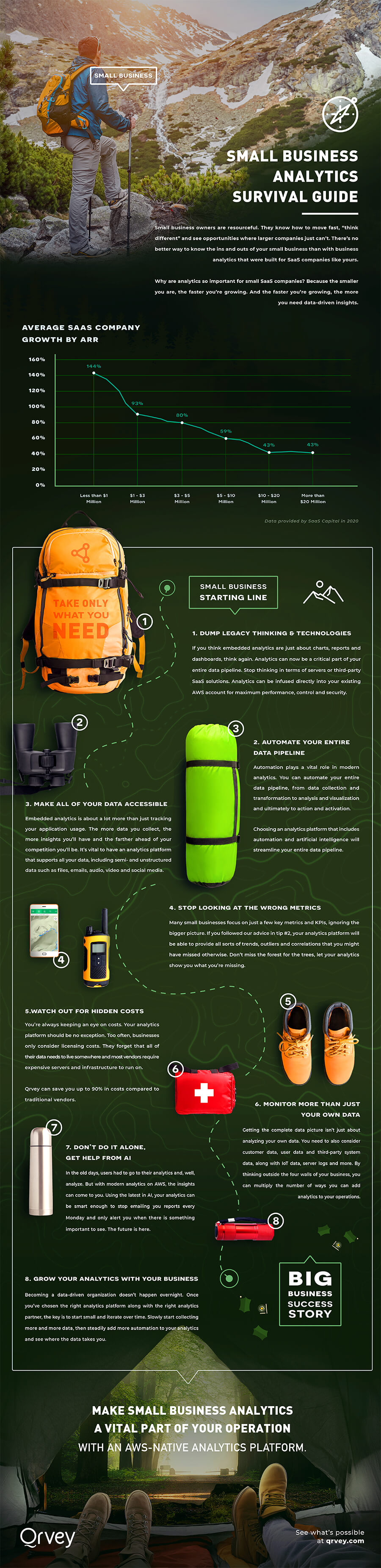 Infographic: Small Business Analytics Survival Guide