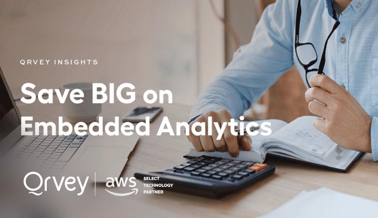 Save Big on Embedded Analytics