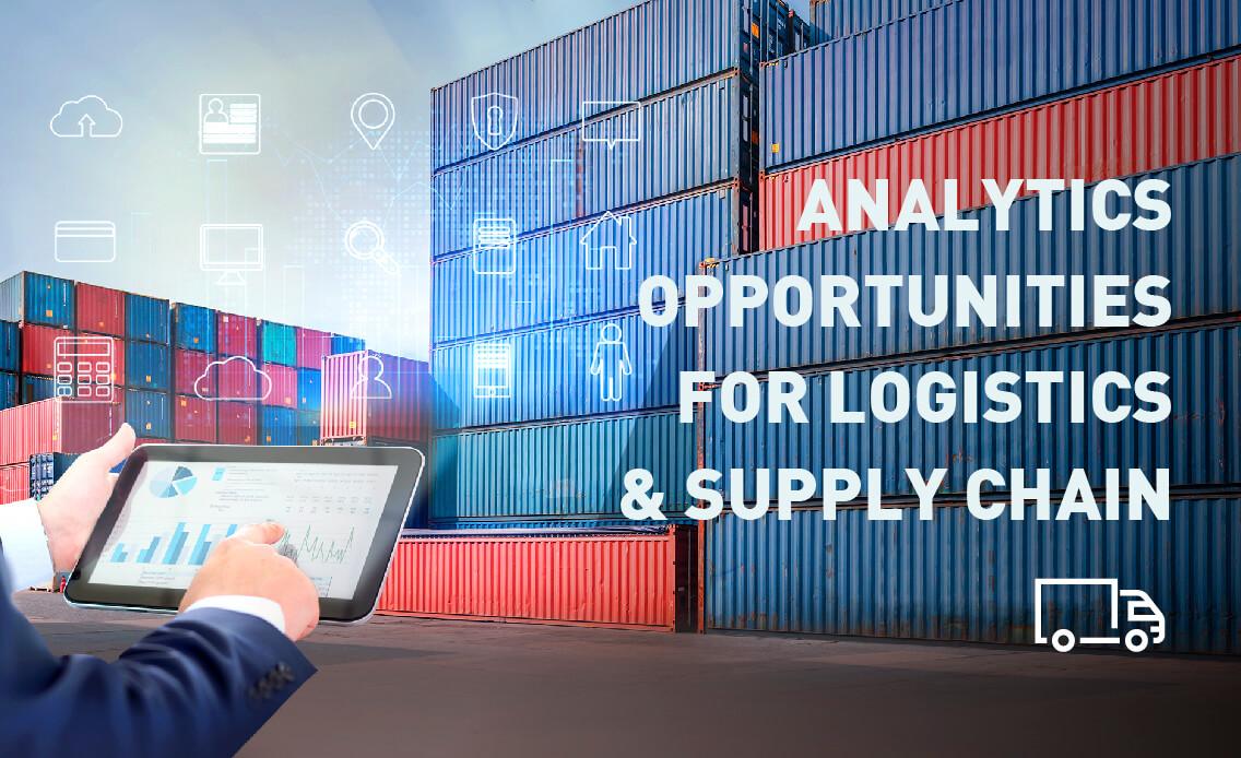 Logistics and Supply Chain Analytics (Infographic)