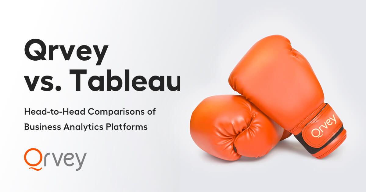 Comparison Guide - Qrvey vs Tableau
